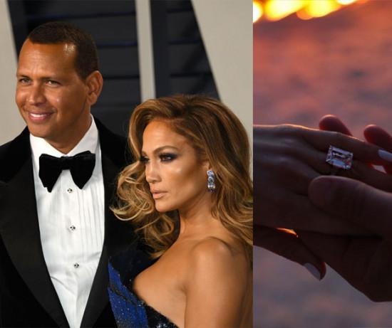 Jennifer Lopez é a mais recente noiva desse time de celebridades! O anel que ela ganhou do jogador de beisebol Alex Rodriguez está avaliado em quase R$ 3,8 milhões - e ele não é o mais caro da lista! Vem ver tudo aqui