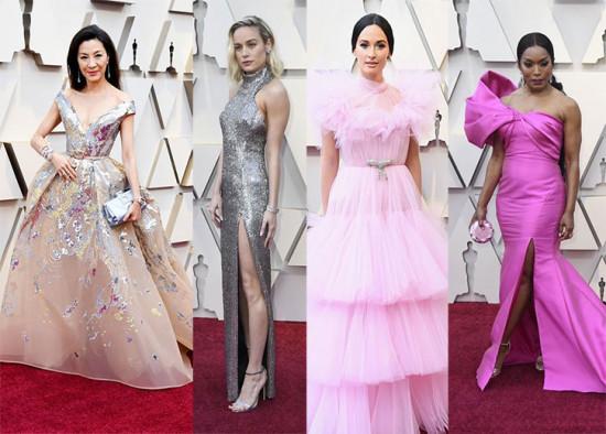 Prata ou rosa? É o tapete vermelho do Oscar! Vem ver mais!