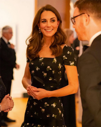Kate Middleton na National Portrait Gallery - vem ver mais!