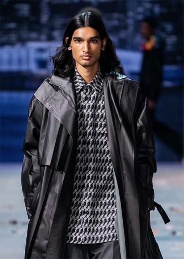 Silhuetas de Michael Jackson na padronagem da Louis Vuitton - a marca não vai colocar essa peça em circulação
