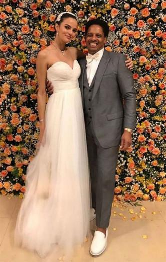 Barbara Fialho e Rohan Marley: felicidades ao casal!