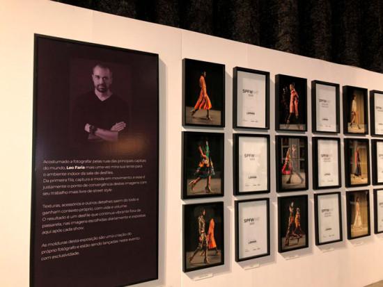 A exposição de Leo Faria é um projeto em construção durante o SPFW - vem aqui conferir!