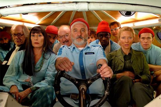 """""""A Vida Marinha com Steve Zissou"""" (2005) é um dos filmes que fazem parte da mostra! Vem ver mais"""