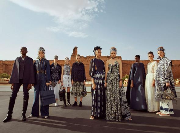 DIOR_CRUISE-2020_GROUPSHOT_©Nadine-Ijewere-for-Dior