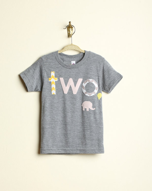 The Elephant in the Room Shirt in Yellow Chevron