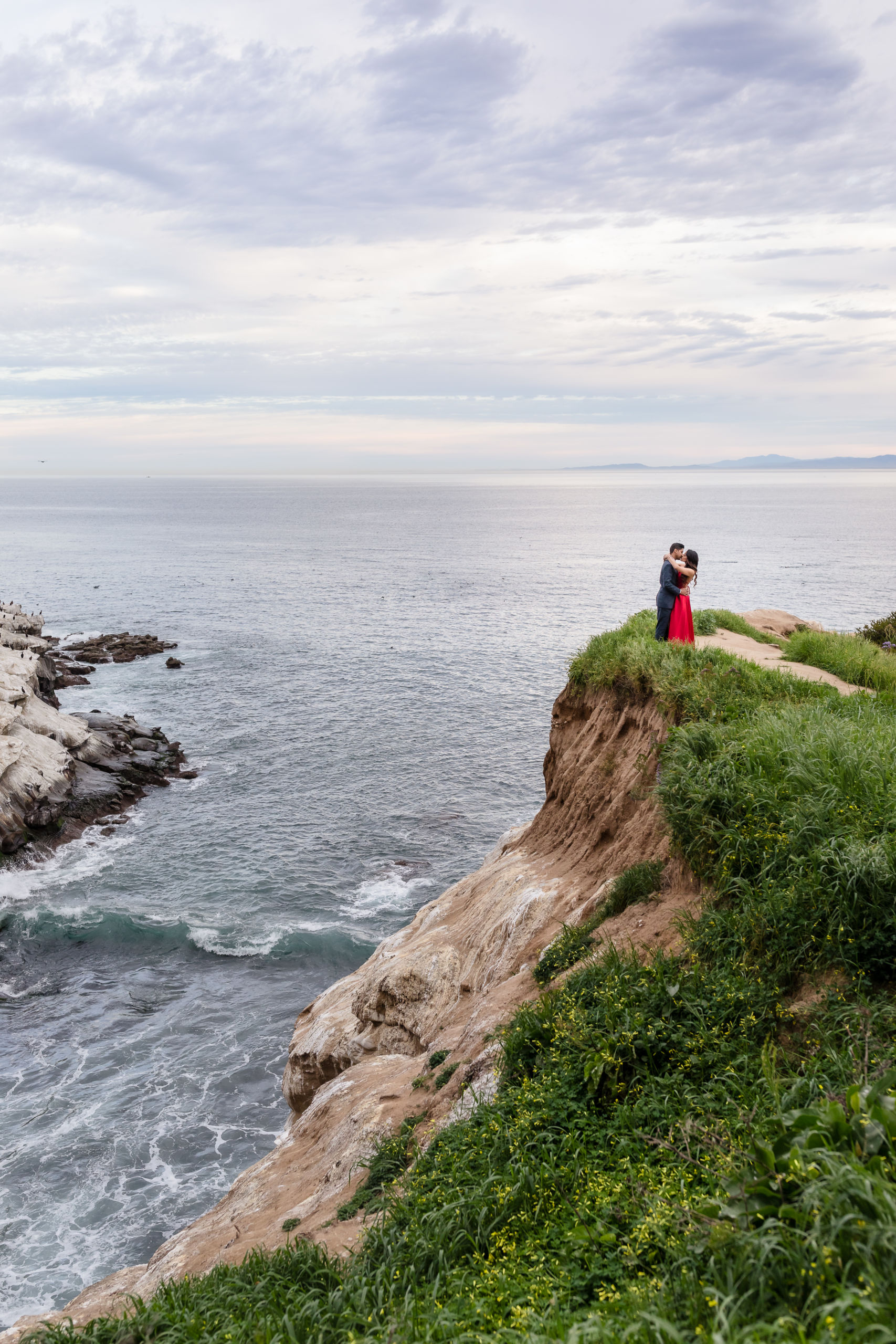 0018 PD La Jolla Cove San Diego County Engagement Photography