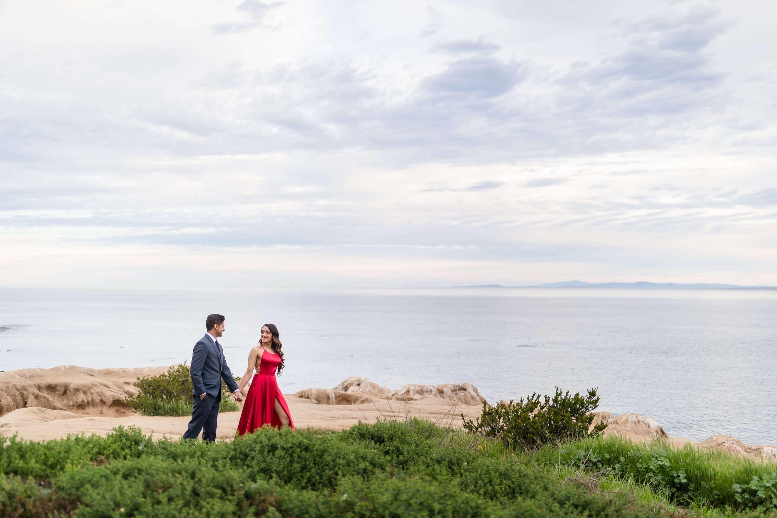 0020 PD La Jolla Cove San Diego County Engagement Photography