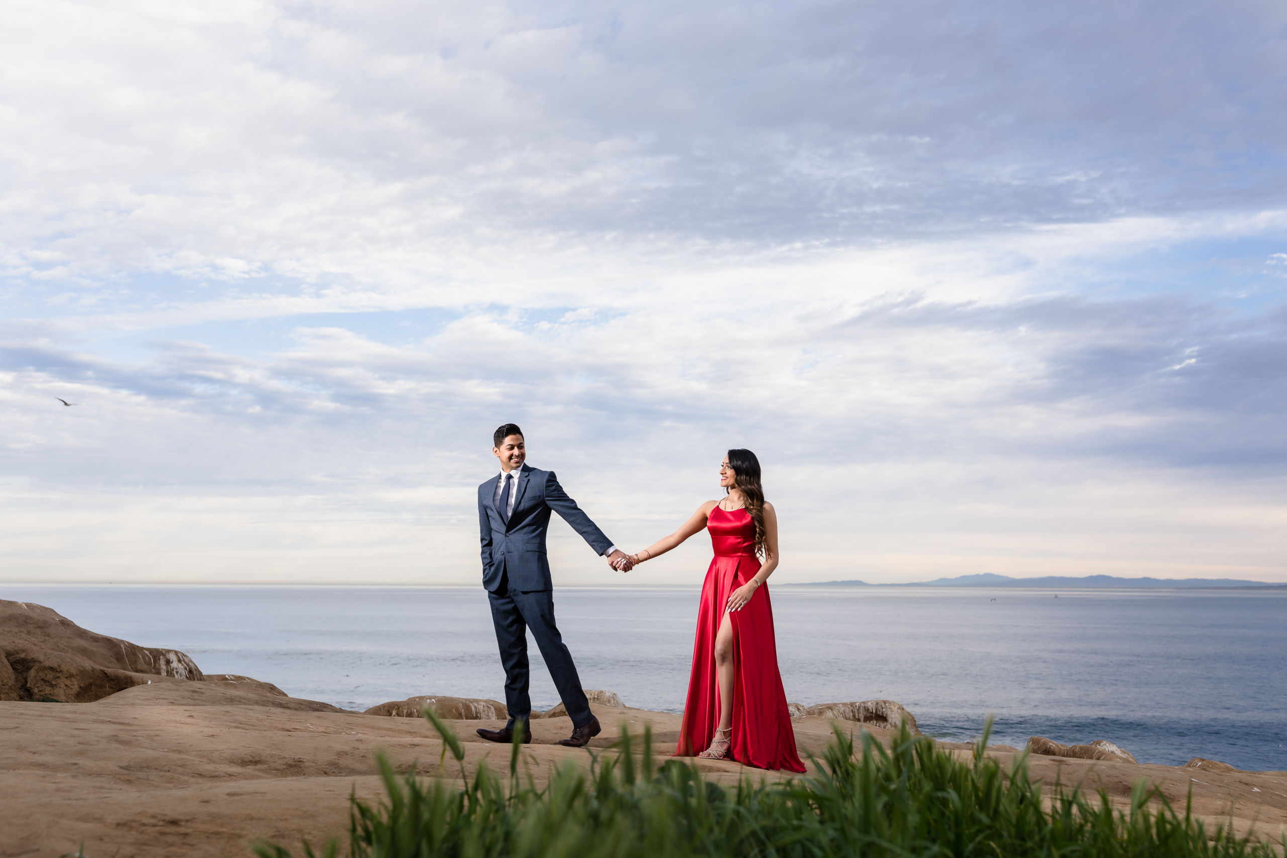 0044 PD La Jolla Cove San Diego County Engagement Photography