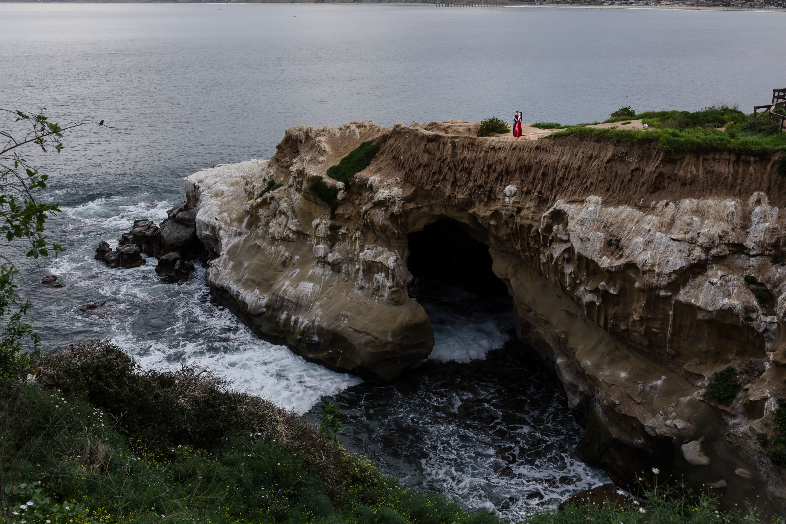 0046 PD La Jolla Cove San Diego County Engagement Photography
