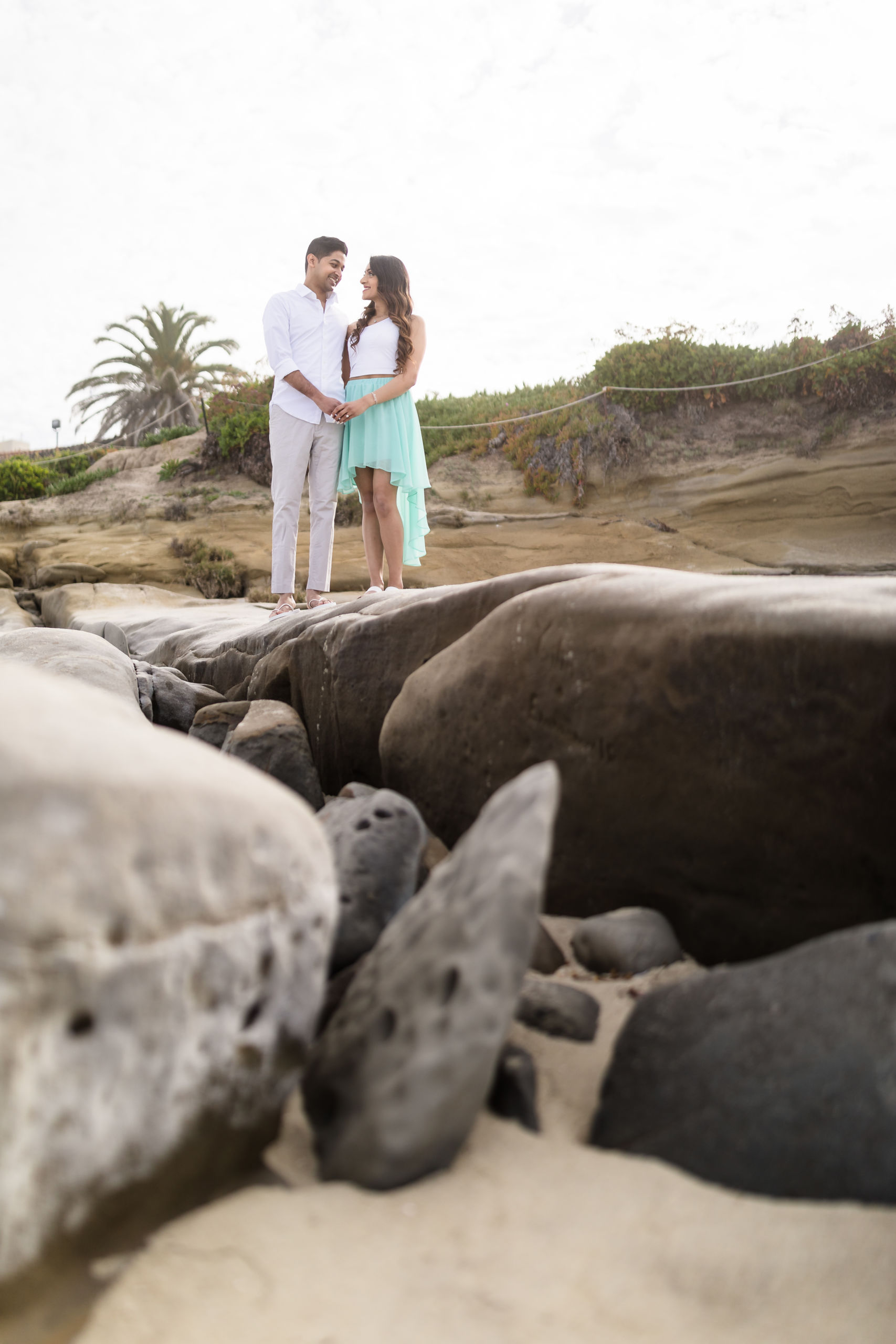 0054 PD La Jolla Cove San Diego County Engagement Photography