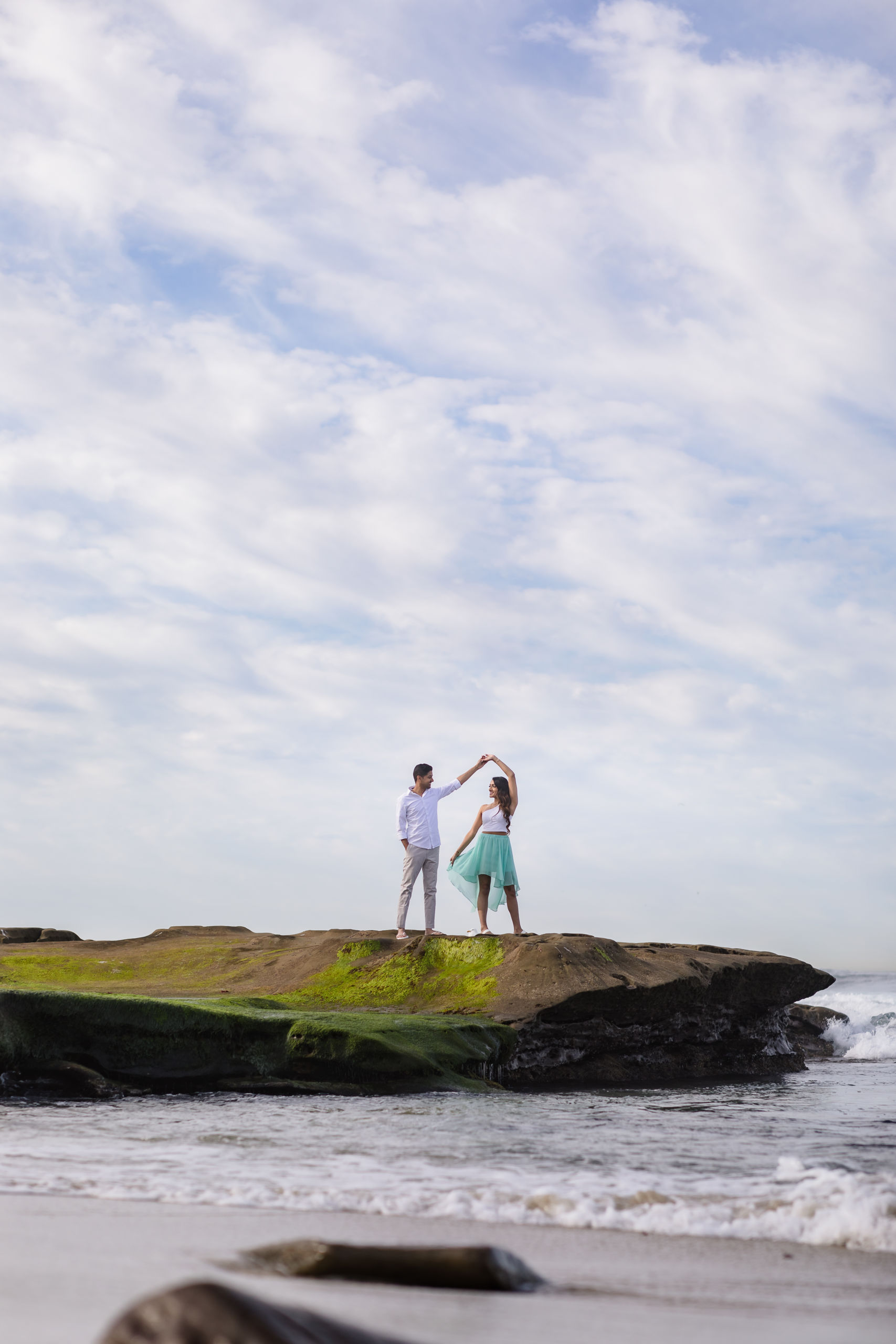 0079 PD La Jolla Cove San Diego County Engagement Photography