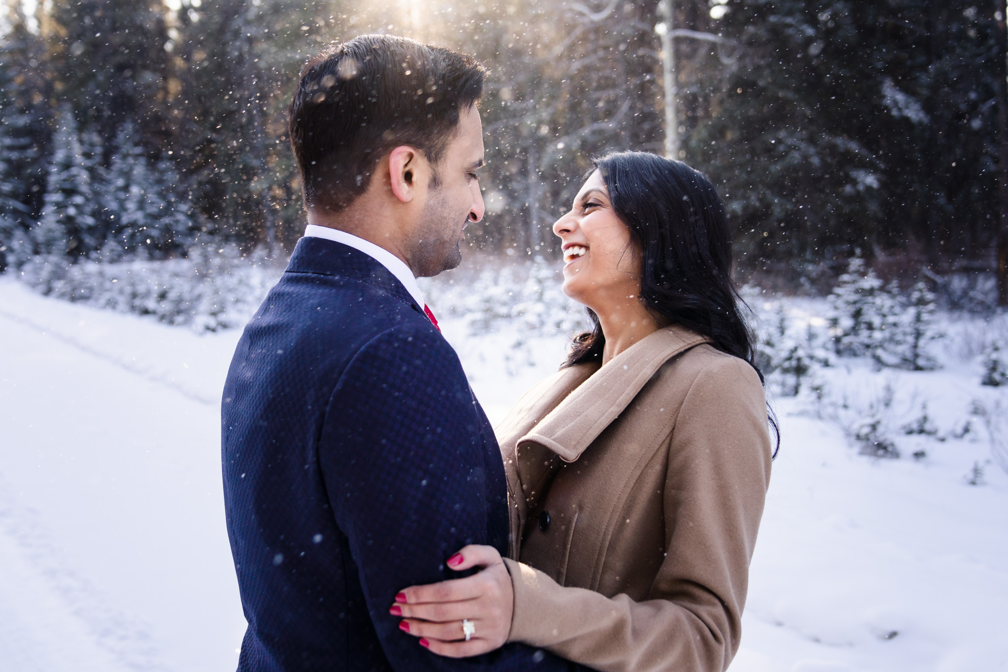 0014 AA Banff Canada Engagement Photography 1