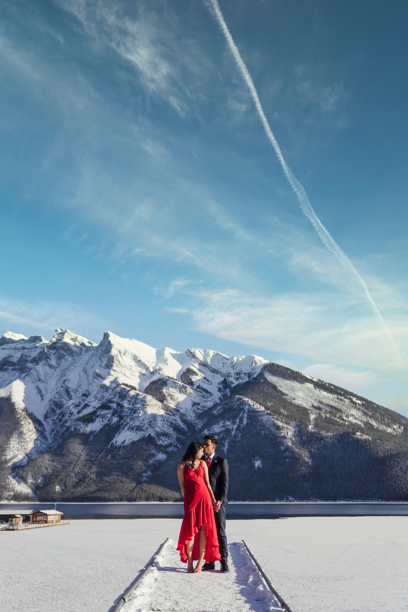 0037 AA Banff Canada Engagement Photography