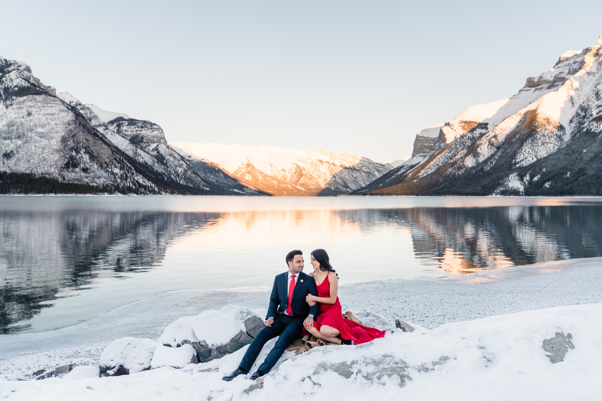 0058 AA Banff Canada Engagement Photography