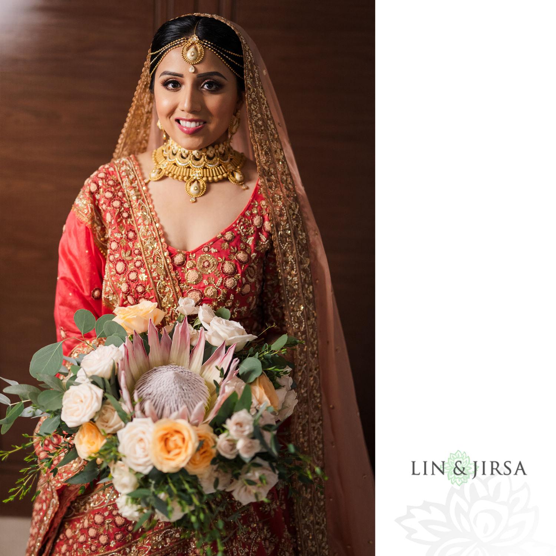 Bride Portrait Royalton Riviera Cancun Indian Wedding