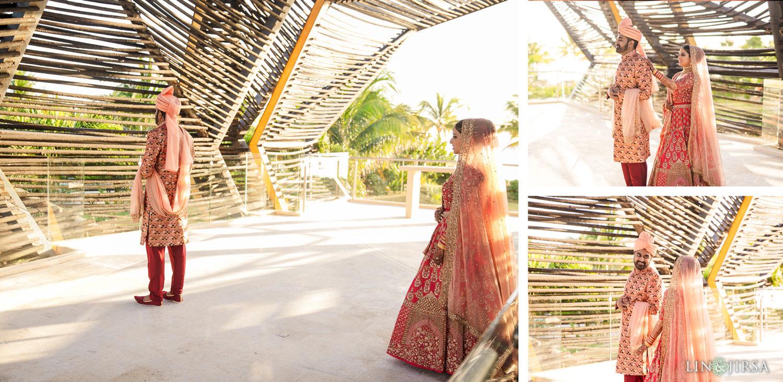 First Look Royalton Riviera Cancun Indian Wedding