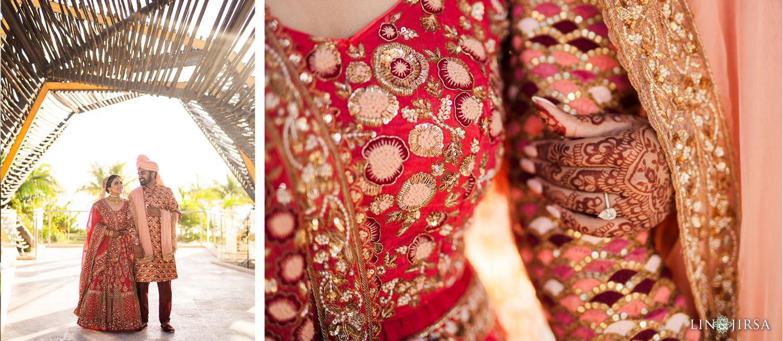 First Look 3 Royalton Riviera Cancun Indian Wedding