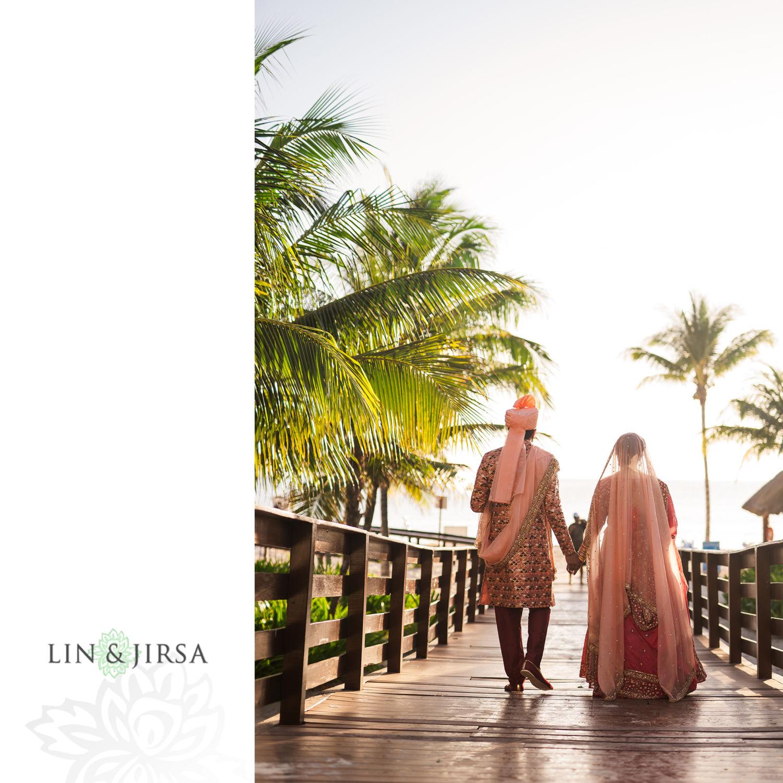 First Look 5 Royalton Riviera Cancun Indian Wedding