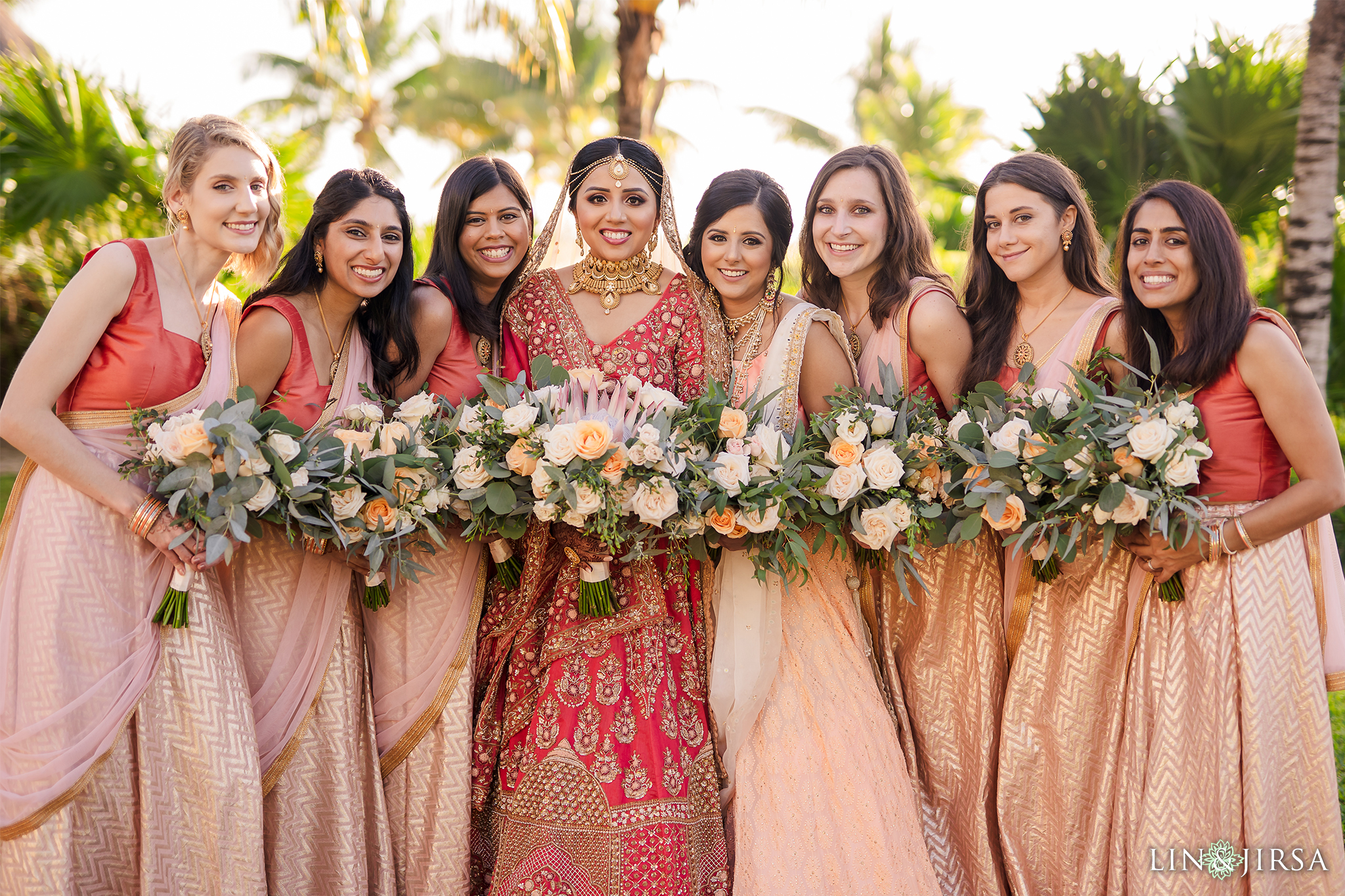 Bridesmaids 2 Royalton Riviera Cancun Indian Wedding