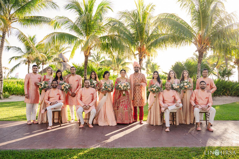Wedding PARTY Royalton Riviera Cancun Indian Wedding