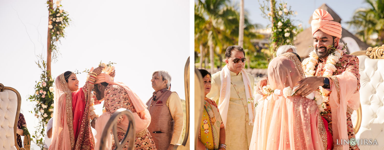 Wedding Ceremony 2 Royalton Riviera Cancun Indian Wedding