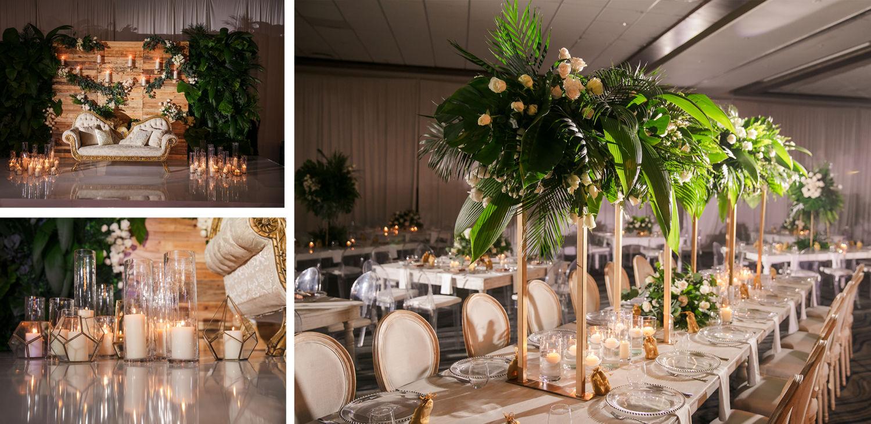 Wedding Reception 2 Royalton Riviera Cancun Indian Wedding