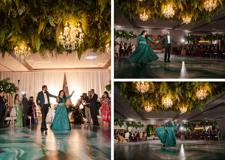 Wedding Reception 3 Royalton Riviera Cancun Indian Wedding