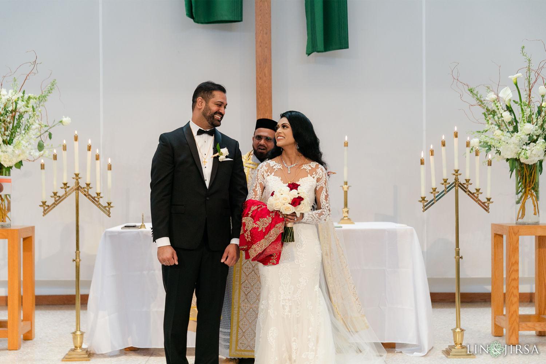 Wedding Ceremony 5 First Presbyterian Church of Santa Monica Marriott Marina Del Rey