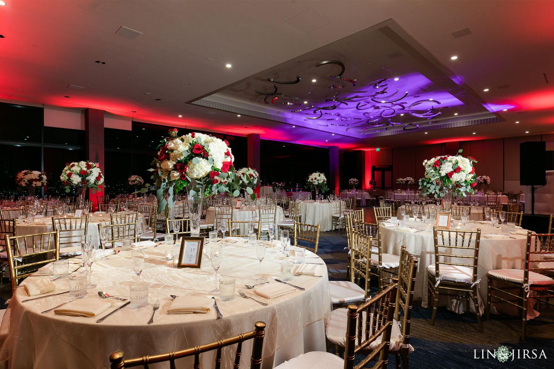 Wedding Reception 2 First Presbyterian Church of Santa Monica Marriott Marina Del Rey