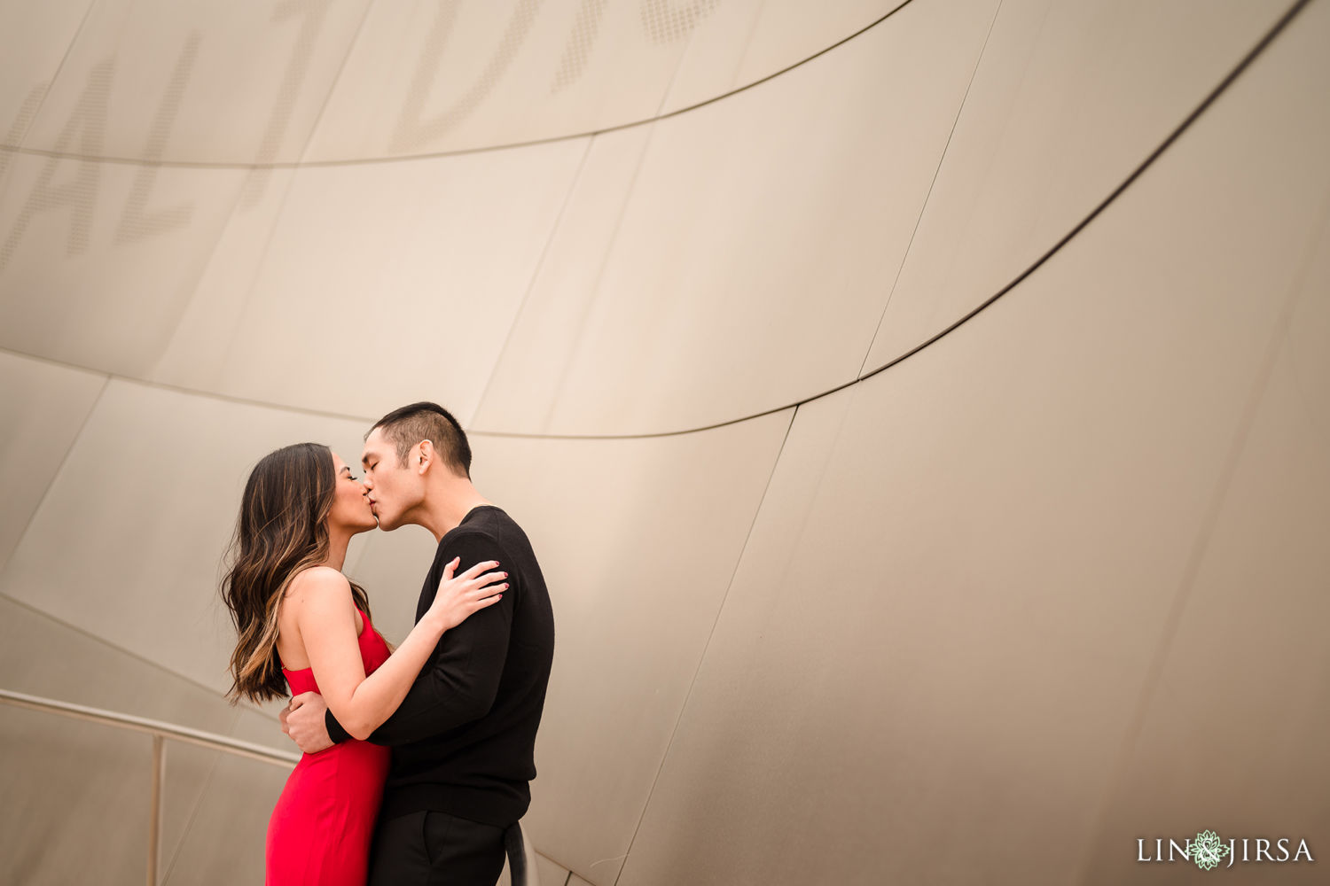 DTLA Engagement Session Walt Disney Concert Hall 2