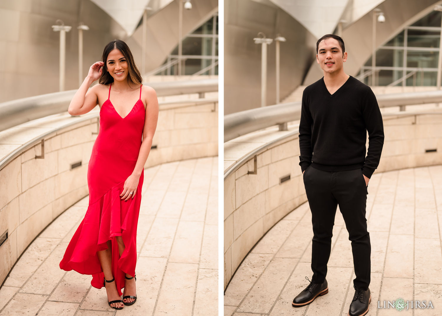DTLA Engagement Session Walt Disney Concert Hall 3