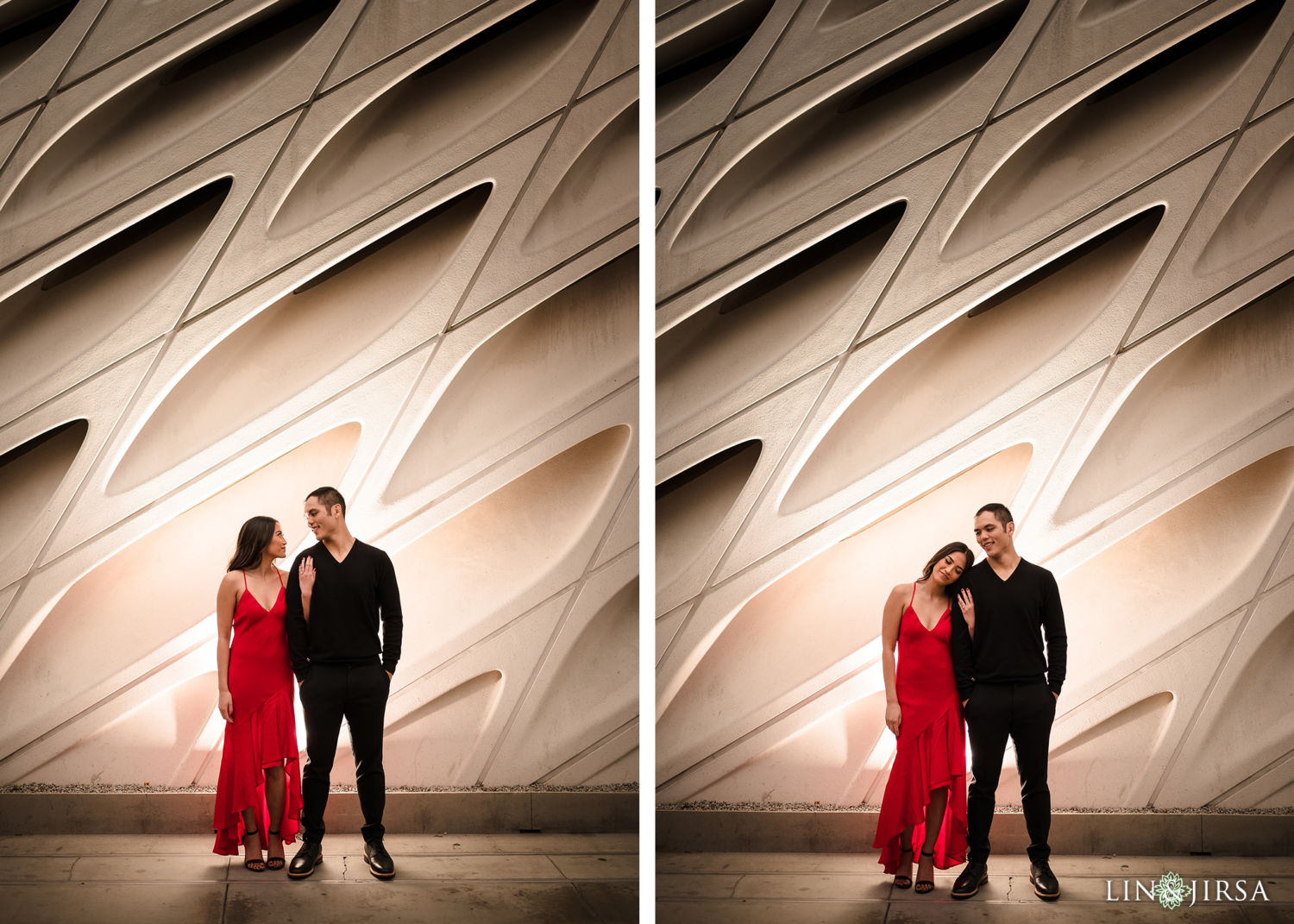 DTLA Engagement Session Walt Disney Concert Hall 10