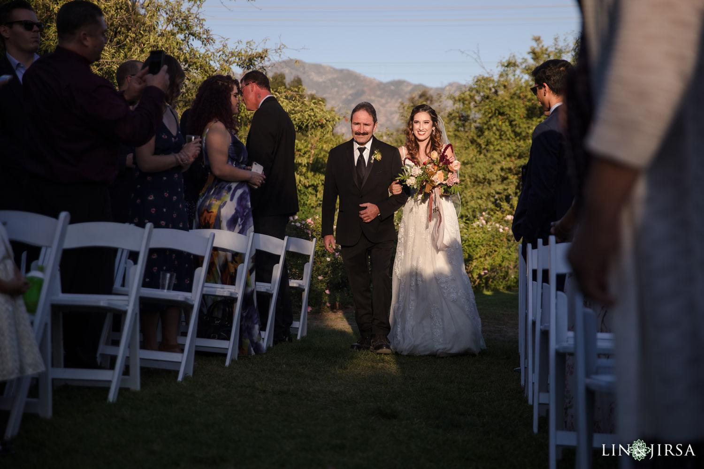 Wedding Ceremony Wedding Party Descanso Gardens Wedding