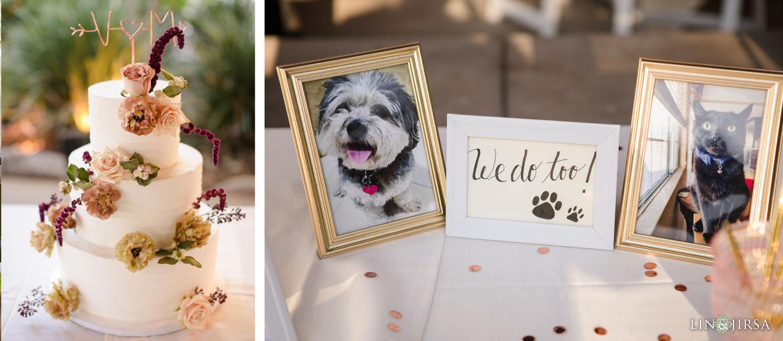 Wedding Reception Details 2 Descanso Gardens Wedding