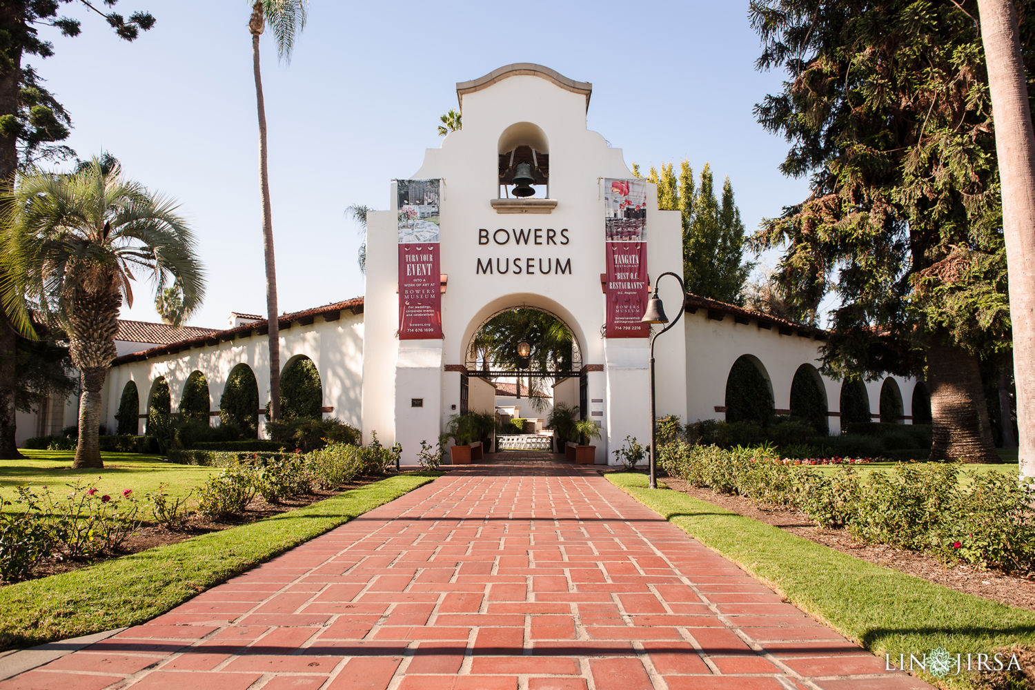 Bowers Museum Santa Ana Wedding