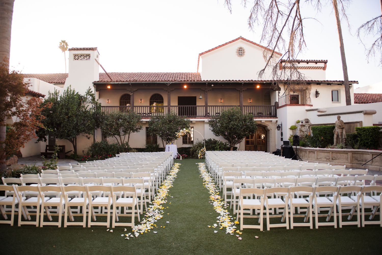 Bowers Museum Santa Ana Wedding Ceremony