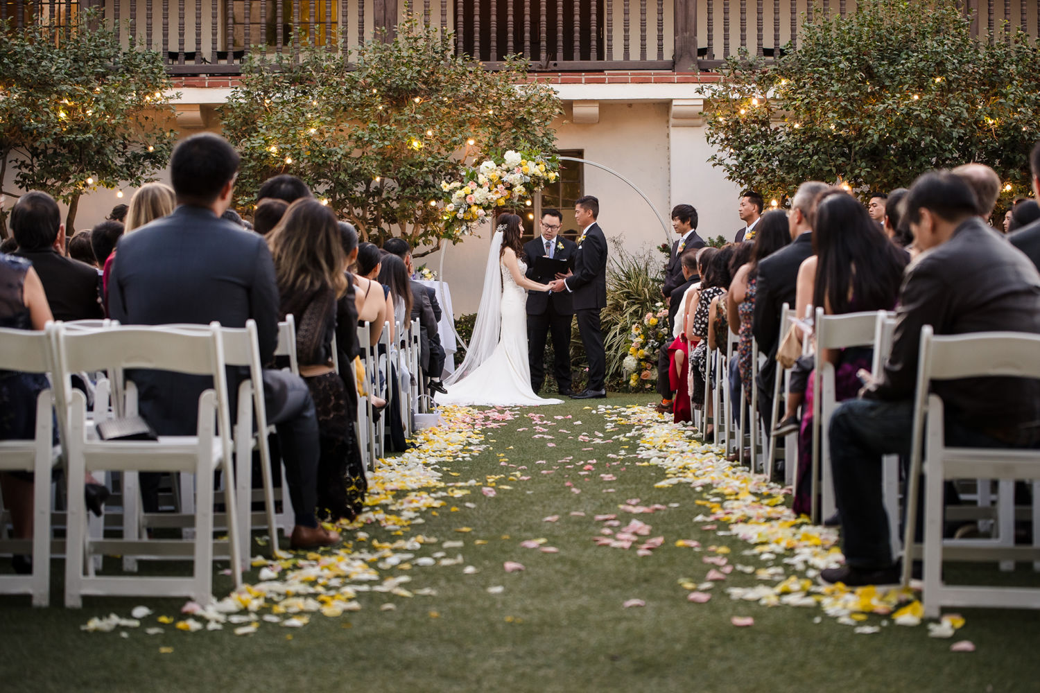 2Bowers Museum Santa Ana Wedding Ceremony