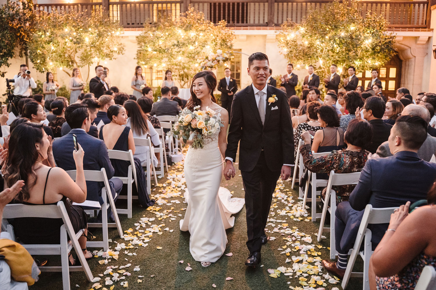 Bowers Museum Santa Ana Wedding Ceremony 4