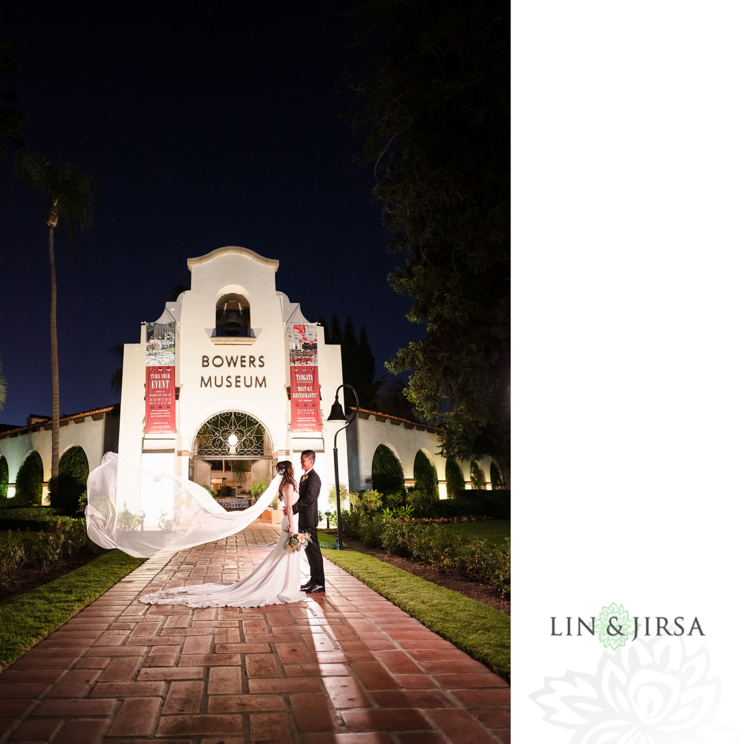 Bowers Museum Santa Ana Weddings