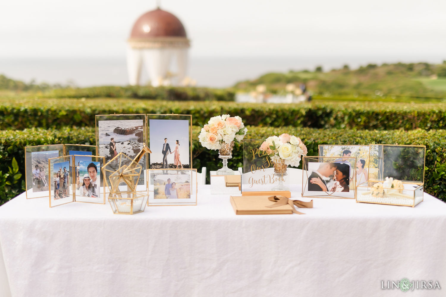 Wedding Ceremony Pelican Hill Newport Beach Wedding