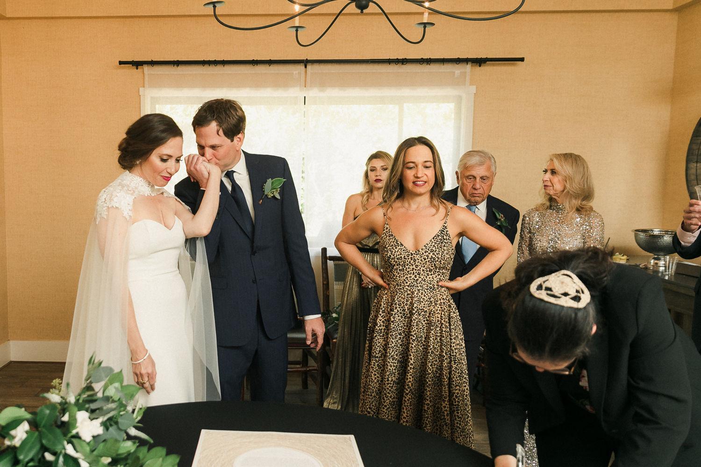 Ketubah Signing The Ranch Laguna Beach Weddings