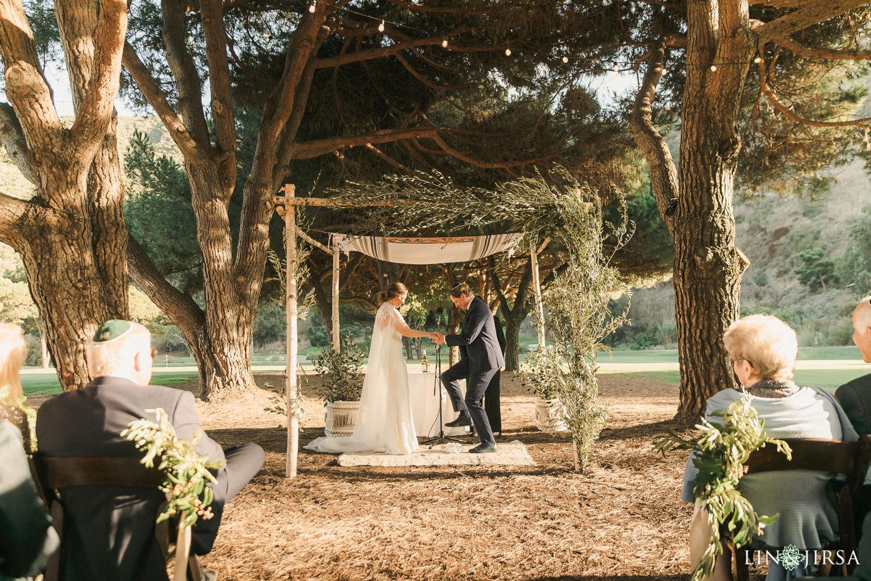 02 Jewish Ceremony The Ranch Laguna Beach Weddings