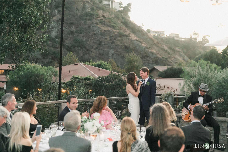 Wedding Reception The Ranch Laguna Beach Wedding