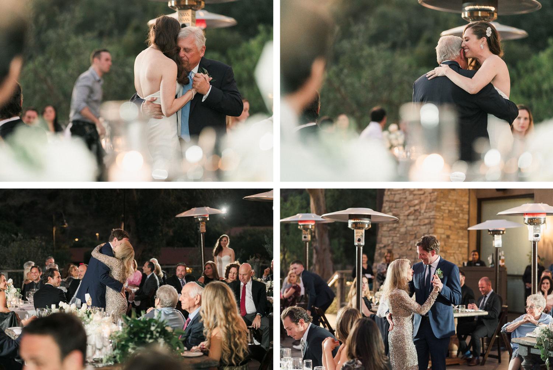 Wedding Reception The Ranch Laguna Beach Wedding Parent Dances