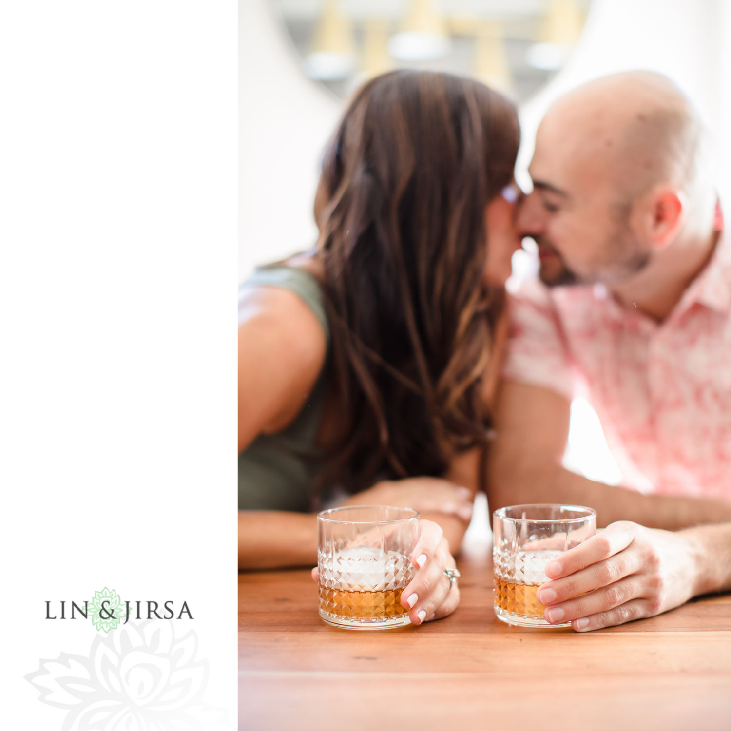 002 In Home Marina Del Rey Engagement Session