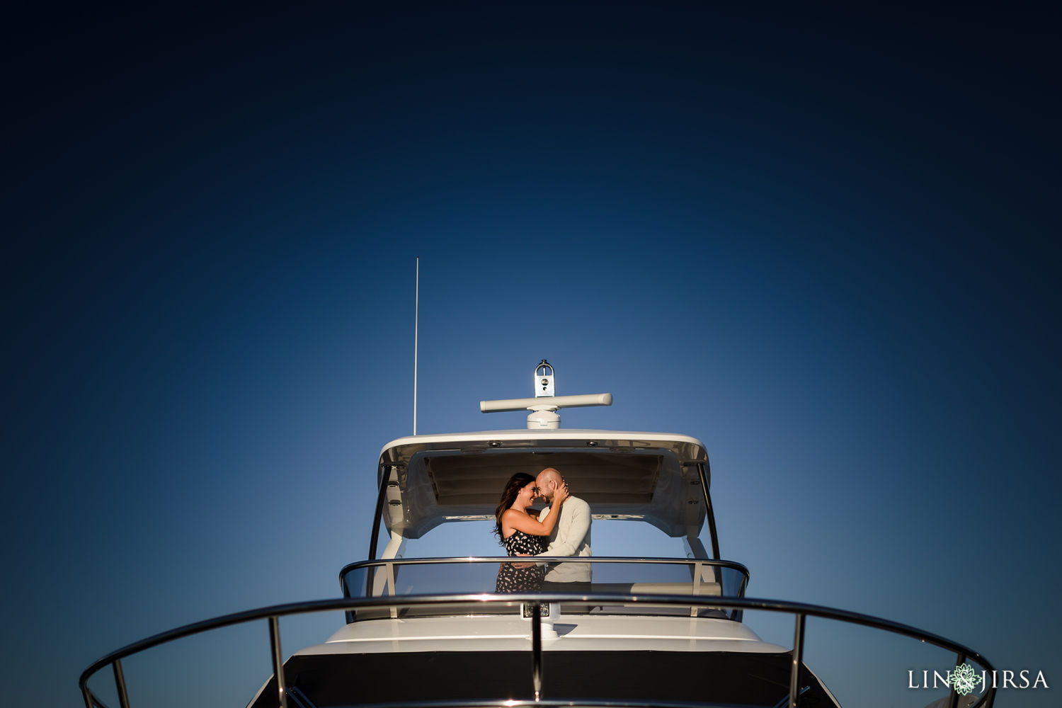 Marina Del Rey Private Boat Engagement Session