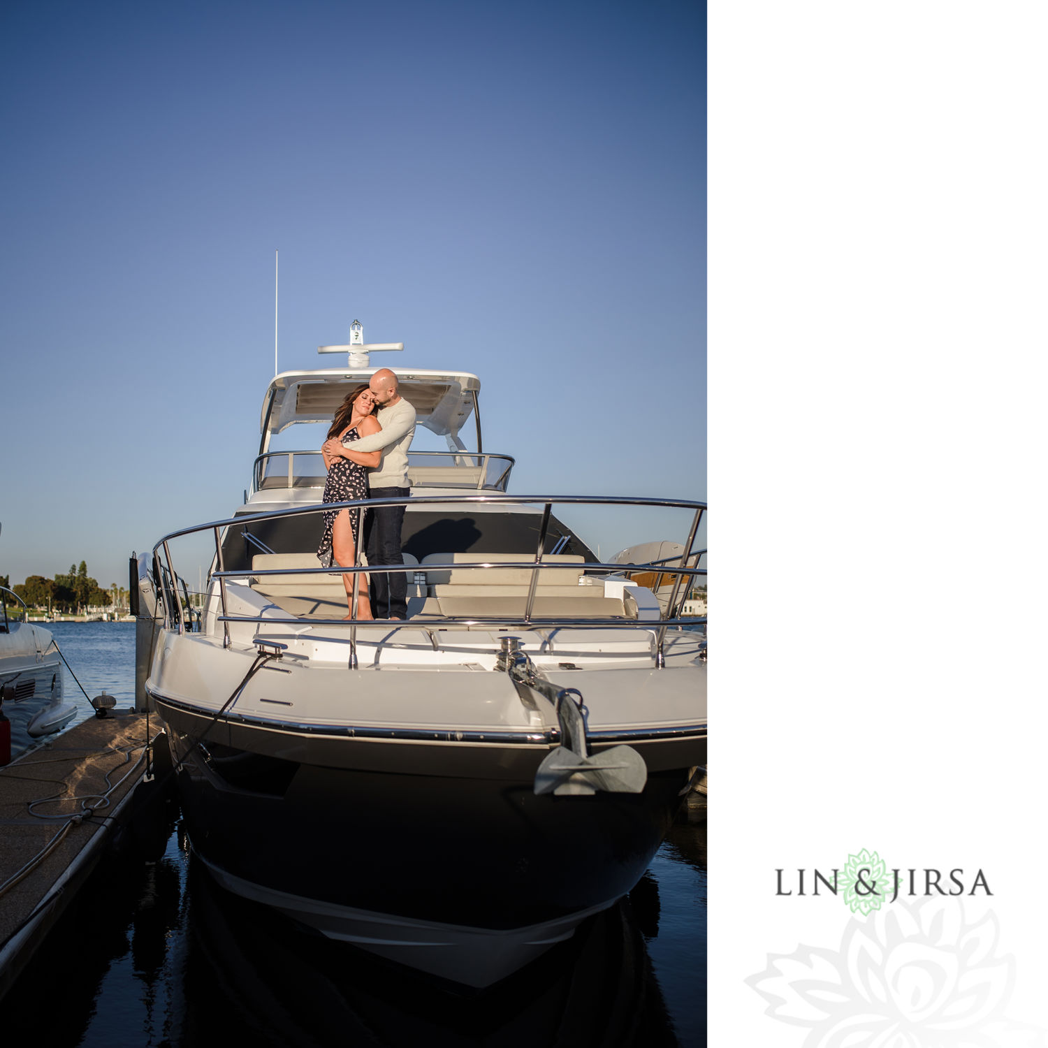 02 Marina Del Rey Private Boat Engagement Session