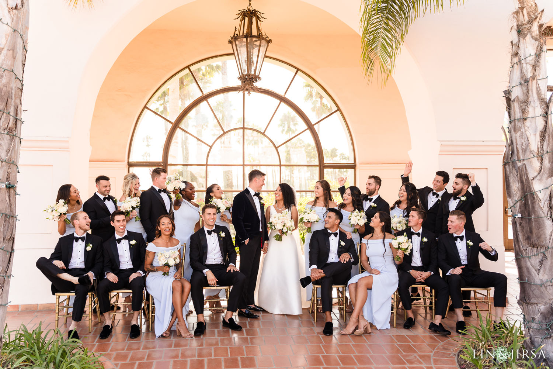 Wedding Party2 Hilton Santa Barbara Beachfront Resort Wedding