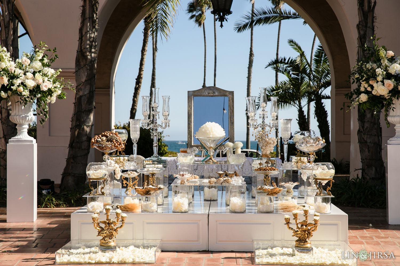 Persian Ceremony Sofreh Aghd Hilton Santa Barbara Beachfront Resort Wedding