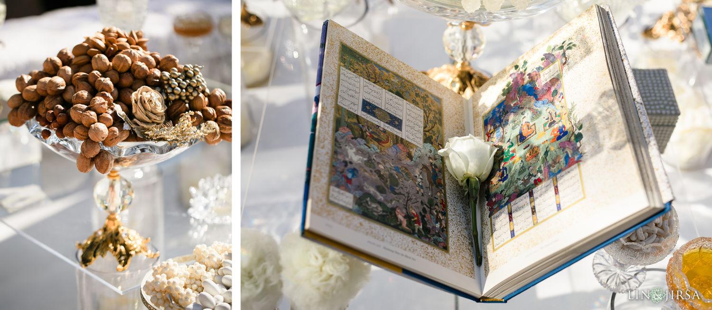 Persian Ceremony Sofreh Aghd2 Hilton Santa Barbara Beachfront Resort Wedding